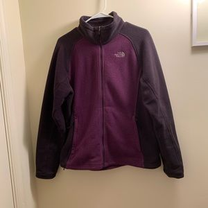 Purple North Face Fleece